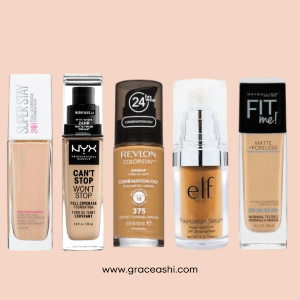 best drugstore foundation review