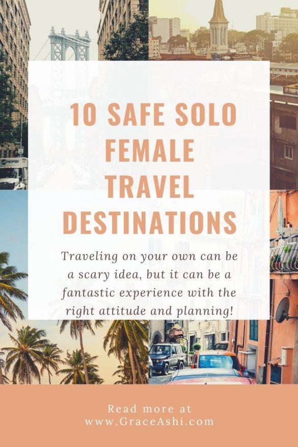 safest solo female travel destinations